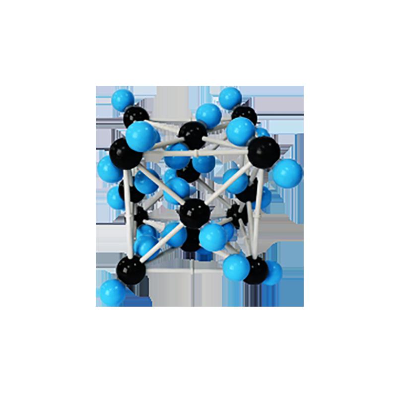 32013 二氧化碳晶体结构模型