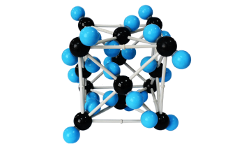 32016 carbon dioxide crystal structure model